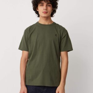 Wood Wood t-shirt ACE ARMY GREEN